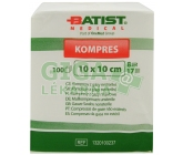 Kompresy gáza 10x10cm 8 vrstev nesterilní 100ks