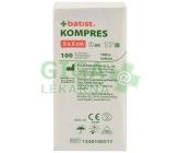 Kompresy gáza 5x5cm 8 vrstev nesterilní 100ks