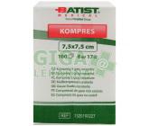 Kompresy gáza 7.5x7.5cm 8 vrstev nesterilní 100ks