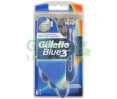 Gillette Blue3 pánská holítka 6 ks
