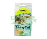 Gimpet Shiny cat konz. - kuře, krevety 2x70g