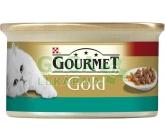 Gourmet Gold cat konz.-k.masa losos a kuře 85g