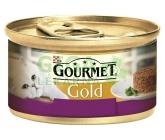 Gourmet Gold cat konz.-Savoury Cake jehně,fazolky 85g
