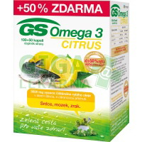GS Omega 3 Citrus 100+50 kapslí