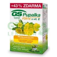 GS Pupalka Forte s vitaminem E 70+30 kapslí