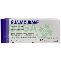 Guajacuran 200mg 50 tablet