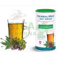 HerbalMed Hot drink Dr.Weiss kašel průdušky 180g