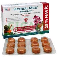HerbalMed pastilky Dr.Weiss Echin+rakytník+vit.C 24+6