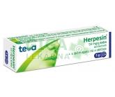 Herpesin krém drm.crm.1x5g 5%