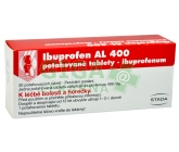 Obrázek Ibuprofen Al 400 30 tablet