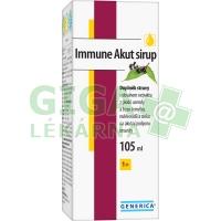 Immune Akut sirup 105ml Generica