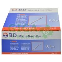 Inzulin.stříkačky BD 0.5mlx8mm U-100 100ks 320933