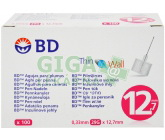 Inzulinové jehly BD 0.33x12.7mm(29G)100ks