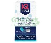 Obrázek IQ Mag hořčík 375 mg + B6 + kys.listová 60tob