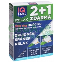 IQ Mag RELAX šumivé tablety 2+1  1 sada