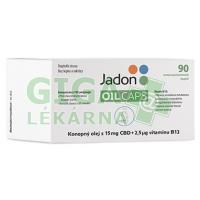 Jadon oil caps CBD konop.olej.15mgCBD+B12 cps.90 (1350 mg)