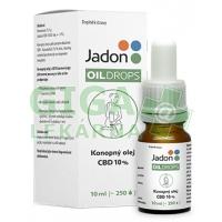 Jadon oil drops konopný olej CBD 10% 10 ml