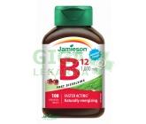 JAMIESON Vit.B12 1000mcg třešeň tbl.100