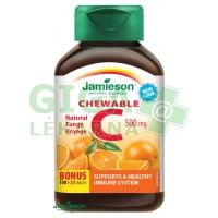 JAMIESON Vitamín C 500mg pomeranč tbl.na cuc.120ks