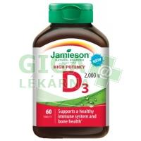 JAMIESON Vitamín D3 2000 IU tbl.60