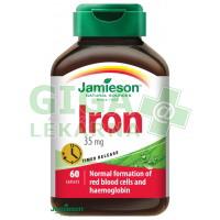 JAMIESON Železo (Iron) 35mg s postupným uvolňov. 60 tablet