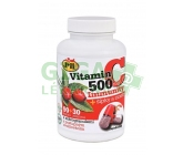 JML Vitamin C 500mg šípky a zinek cps.90+30