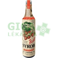 Kitl Syrob Jahodový s dužninou 500ml