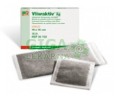 Komprese Vliwaktiv Ag 10x10cm sterilní 10ks