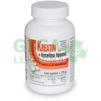 Kreatin + Kyselina lipoová 150 tablet Naturvita