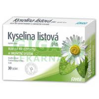 Kyselina listová plus 30 tablet Favea