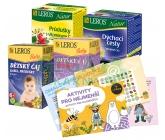 LEROS Aktivity pro nejmenší+bylinné čaje n.s.60ks