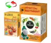 LEROS BABY Dětský čaj Rakytníkový n.s.20x2g