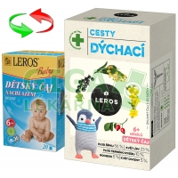 LEROS Dětský čaj cesty dýchací 20x2g