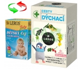 Obrázek LEROS Dětský čaj cesty dýchací 20x2g