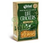Lifefood Life crackers BIO s medvědím česnekem 90g