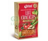 Lifefood Life crackers BIO rajčatové 90g