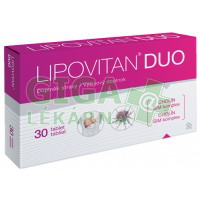 Lipovitan DUO tbl.30 nový