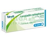 Loratadin-Ratiopharm 10mg por.tbl.nob.30x10mg
