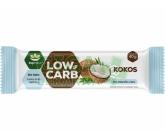 LOW CARB tyčinka kokos 40g TOPNATUR