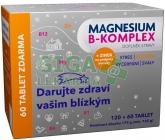 Magnesium B-komplex VÁNOCE Glenmark tbl.120+60