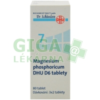Magnesium phosphoricum DHU 80 tablet D6 (No.7)