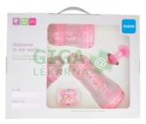 Obrázek MAM Gift dárkový set pro novorozence malý 0+m. růžový