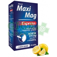 MaxiMag Express hořčík 375 mg+B6 direct 20 sáčků