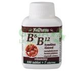 MedPharma B6 B12+kyselina listová tbl.107
