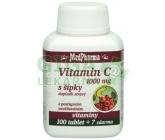 MedPharma Vitamín C 1000mg s šípky tbl.107 prod.úč