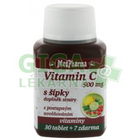 MedPharma Vitamín C 500mg s šípky 37 tablet