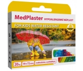 MedPlaster Napl.KIDS water res.19x72mm20
