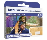 MedPlaster Nápl.water resist.19x72mm20ks