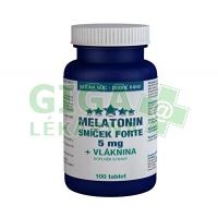 Melatonin 5mg Sníček 100 tablet s vlákninou