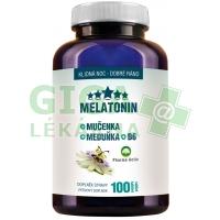 Melatonin Mučenka Meduňka B6 100 tbl. Clinical